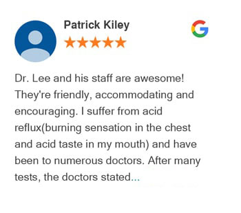 Patrick Kiley Google review for Active Family Wellness
