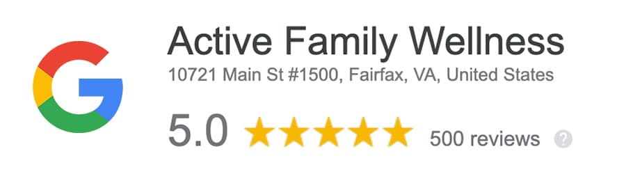 Active Family Wellness Google Review