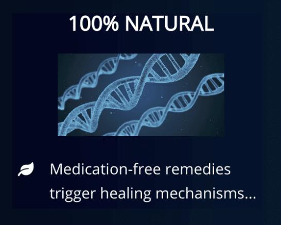 100% natural - medication free remedies