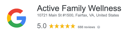 Active Family Wellness Fairfax Chiropractic Google Review