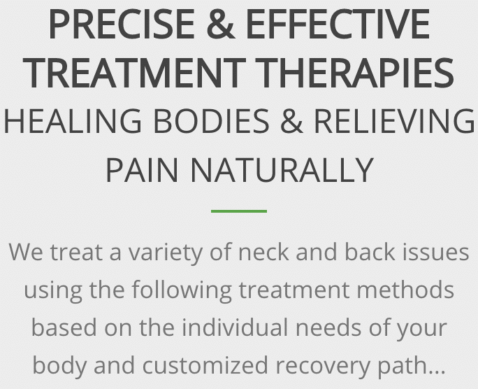 Precise and effective treatment therapy at Active Family Wellness