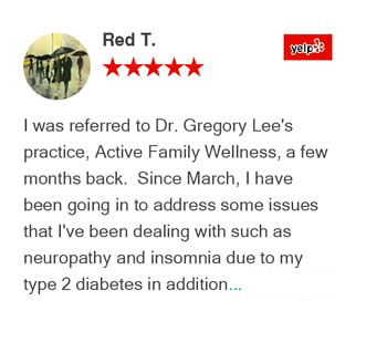 Red T. Yelp Review for Active Family Wellness