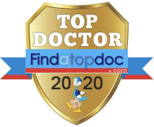 Dr. Gregory Lee has won the TOP DOCTOR Award in 2020 by Findatopdoc.com